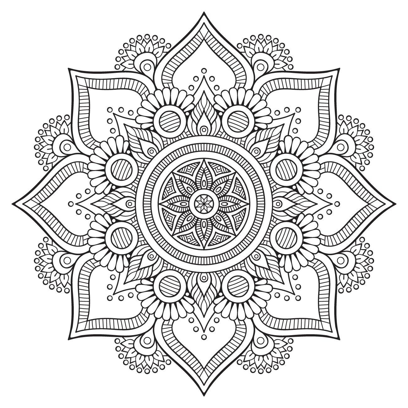 Mandala, disegni da colorare