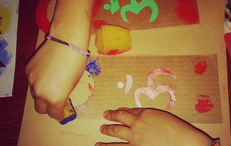 Bambini, Yoga e Arte