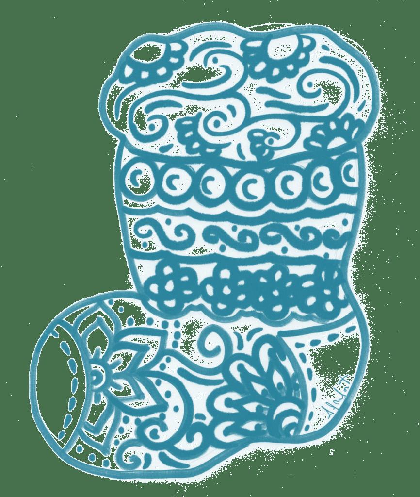 Mandala Stivali Di Natale 2018