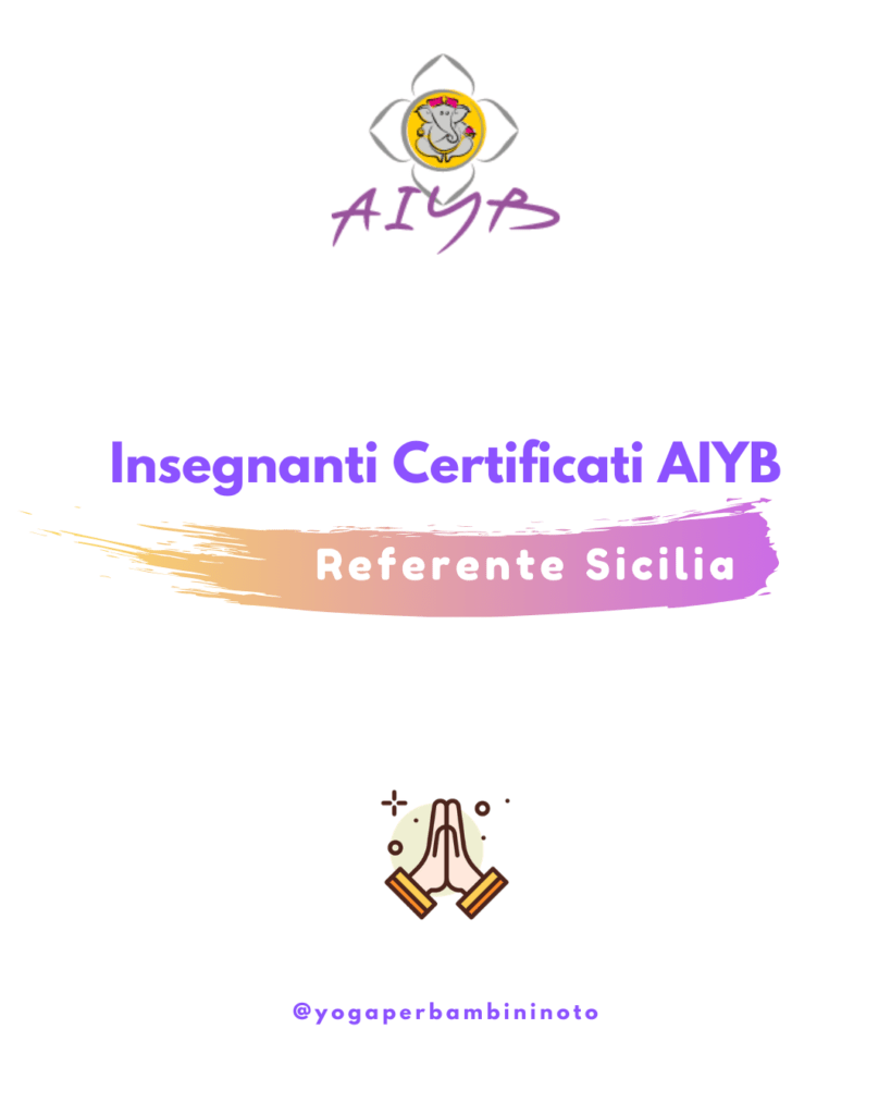 Aiyb Referente Sicilia - Yogaperbambininoto.com - Dalila Moriella
