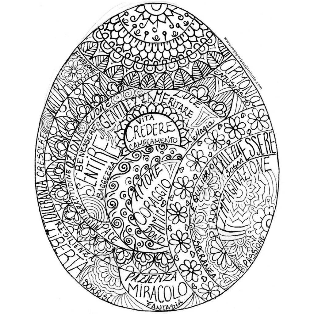 Mandala Ovetto di Pasqua