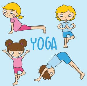 Yoga per bambini pose kids