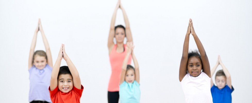 kids yoga day