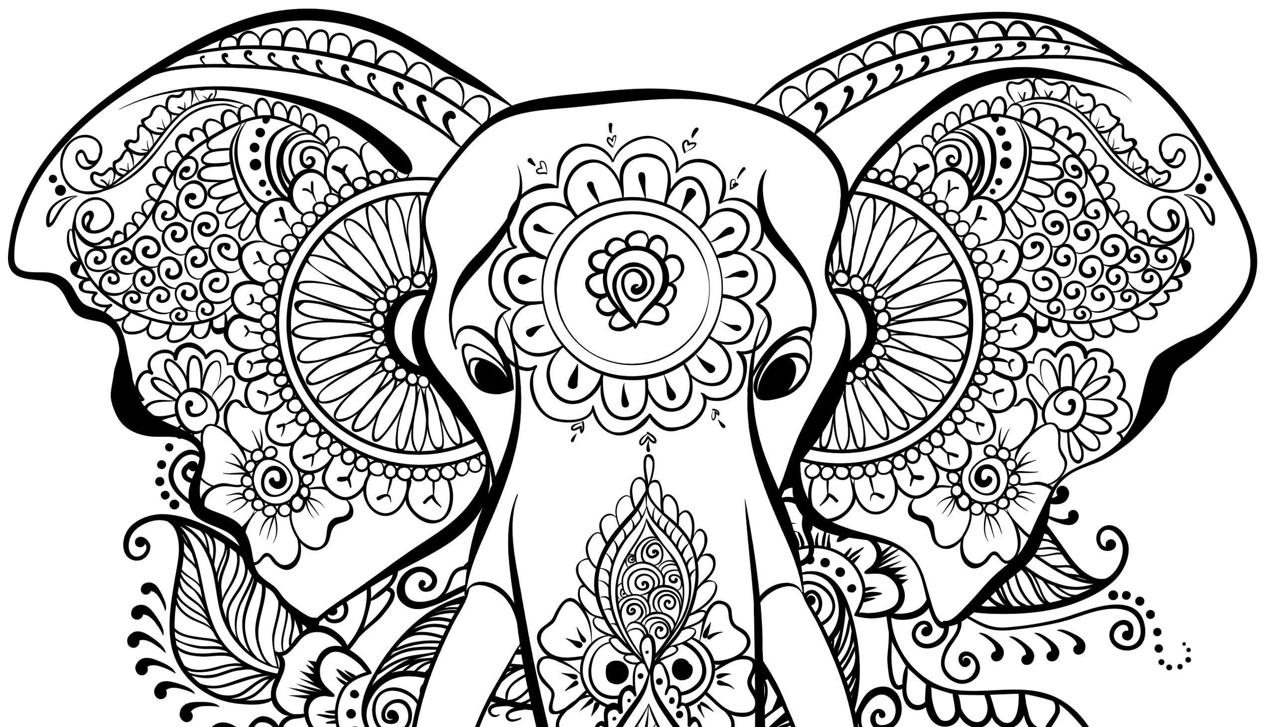 I mandala sono belli da colorare e dipingere sono anche - Animali immagini da colorare pagine da colorare ...